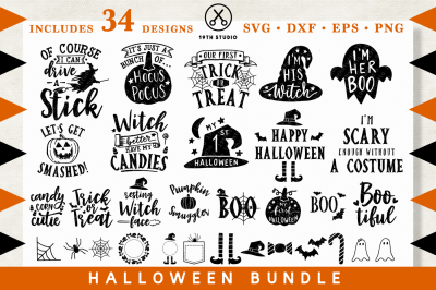 Halloween SVG Bundle | M28