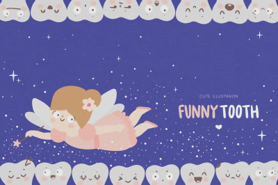 Funny tooth/ Dental for kids