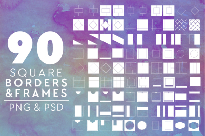 90 Instagram Borders & Frames