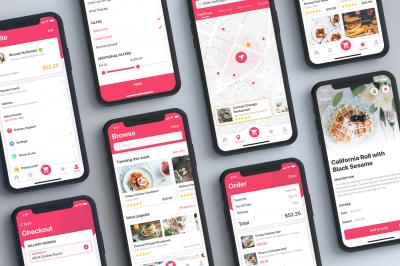 Foody - Food App UI Kit