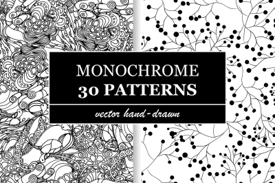 Monochrome Patterns Collection