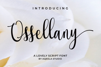 Ossellany Script