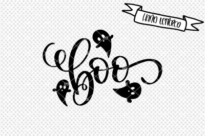 Boo svg cut file, halloween svg