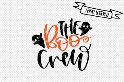 The boo crew svg cut file, halloween svg
