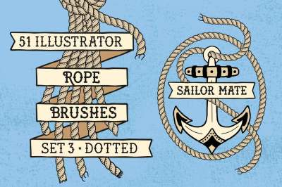 Sailor Mate's Rope Brushes III