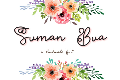 Suman Bua - A sophisticated font
