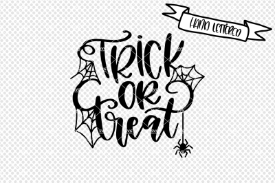 Trick or Treat svg cut file, halloween svg