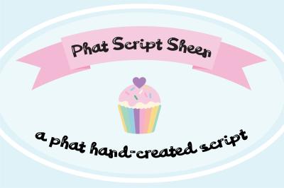 PN Phat Script Sheen Font Duo