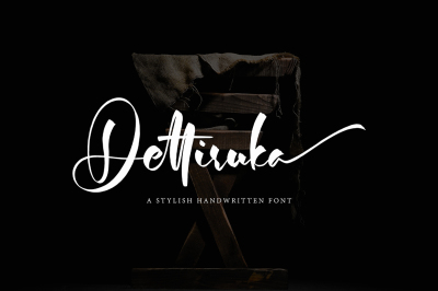 Dettiruka Stylish Font