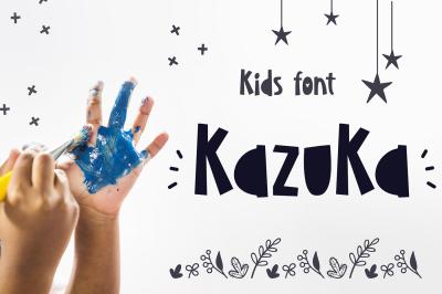 KazuKa Kids Font