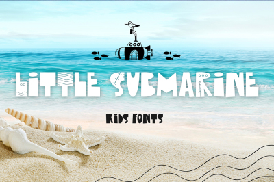 Little Submarine Kids Fonts