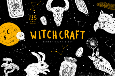 Witchcraft. Secret Graphic Set