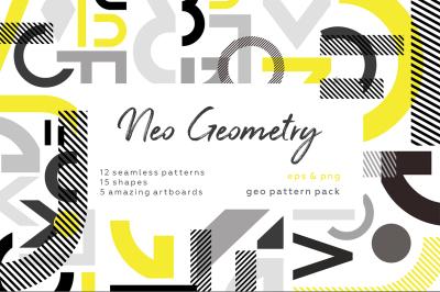 NEO GEO. Geometry pattern set.