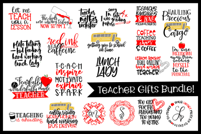 Teacher Bundle - Gifts for the whole staff!