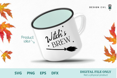 Witch's brew SVG PNG EPS DFX