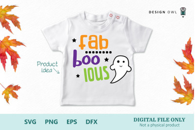 Fab boo lous SVG PNG EPS DFX