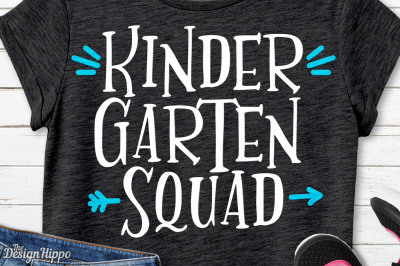 Kindergarten Squad SVG, Teacher, Boys, Girls, Back to School SVG, PNG