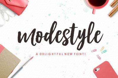 Modestyle Script