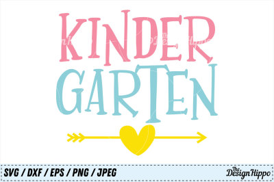 Kindergarten SVG, School PNG, Teacher DXF, 1st Day of School SVG Files