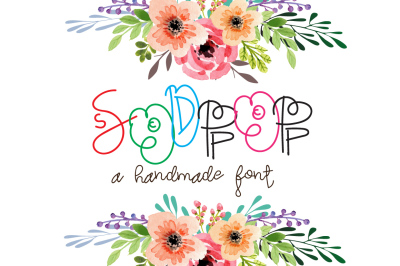 Sodpop - A decorative Script font