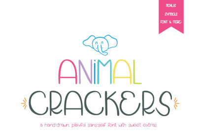 Animal Crackers Font