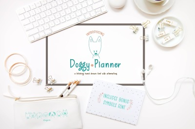 Doggy Planner Font