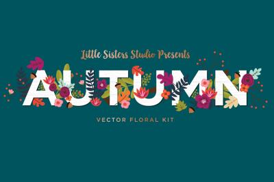 Autumn Floral Kit