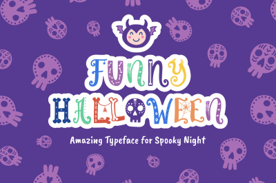 Funny Halloween Font
