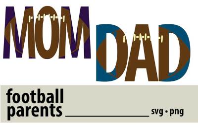 Football Parents SVGs