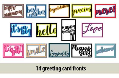 Greeting Card SVGs