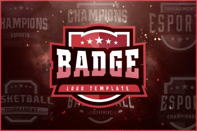 Badge Logo Template