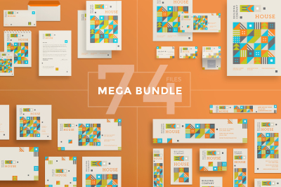 Design templates bundle | flyer, banner, branding | Building Company