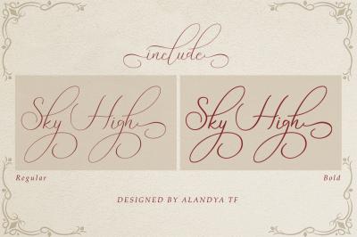 Sky High script
