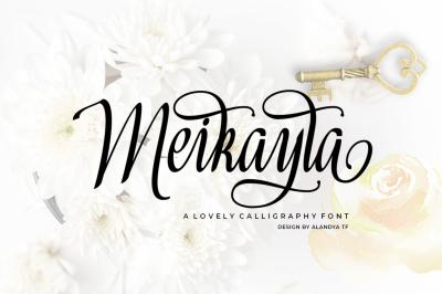 Meikayla script ( limited offer 40% Off )