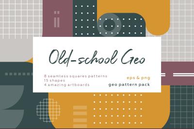 Old-school geometric pattern.