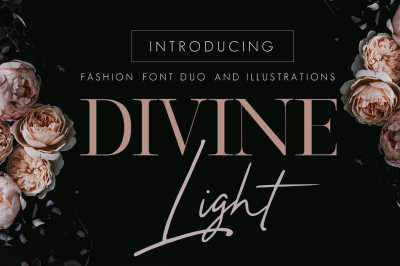 Divine Light Font Duo and extras