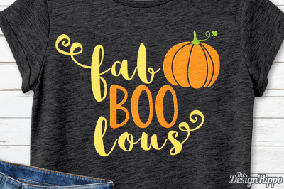 Fab boo lous SVG, Faboolous SVG, Fall SVG, Halloween SVG, PNG Cut File