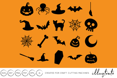 Halloween SVG Cut File - DXF - Craft Cutting Files