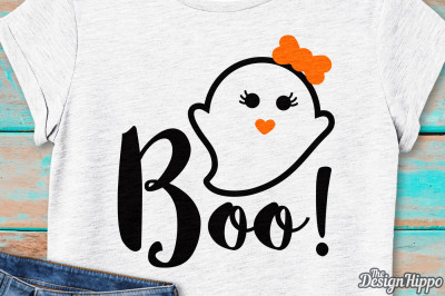 Boo SVG, Bow SVG, Halloween SVG, Ghost SVG, Ghouls SVG, PNG, Cut Files
