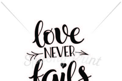 Download Love Never Fails Free Download Free Svg Font
