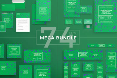 Design templates bundle | flyer, banner, branding | Industry Show