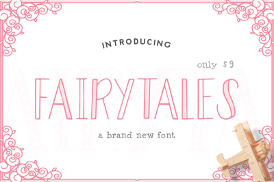 Fairytales Font (ONLY $9)