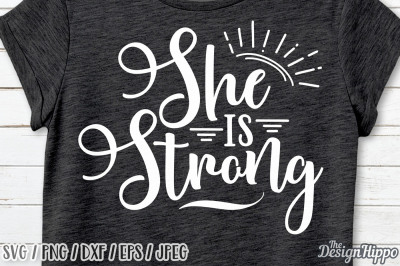 She is Strong SVG, Proverbs 31 SVG, Christian SVG, Bible SVG, Cut File