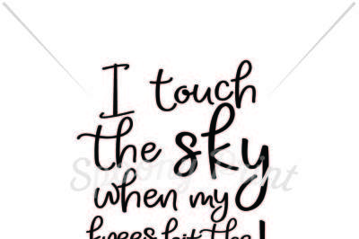 I touch the sky