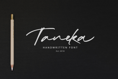 Taneka Handwritten - 70%OFF