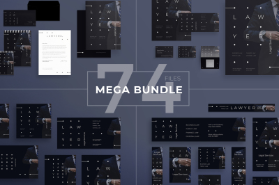 Design templates bundle | flyer, banner, branding | Legal Services