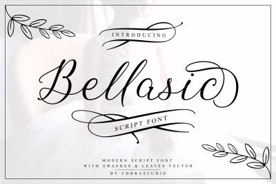 Bellasic Font + Bonus
