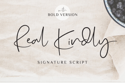 Real Kindly Signature Script