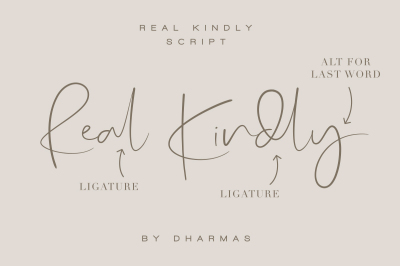 Real Kindly Signature Script