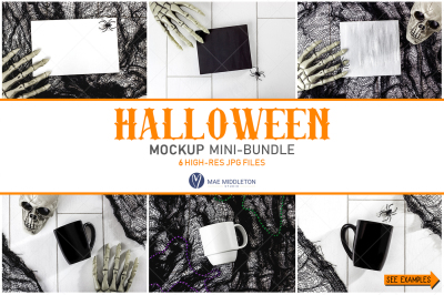Halloween Mockup bundle